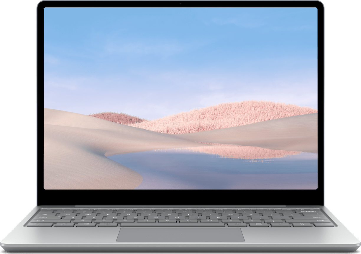 Platinum Microsoft Surface Laptop Go Laptop - Intel® Core™ i5-1035G1 - 8GB - 256GB SSD - Intel® Iris™ Plus Graphics.1
