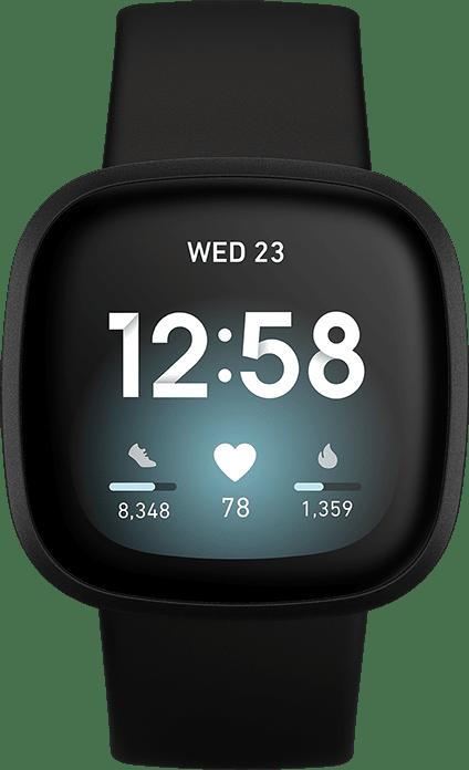Black Fitbit Versa 3, 41mm.2