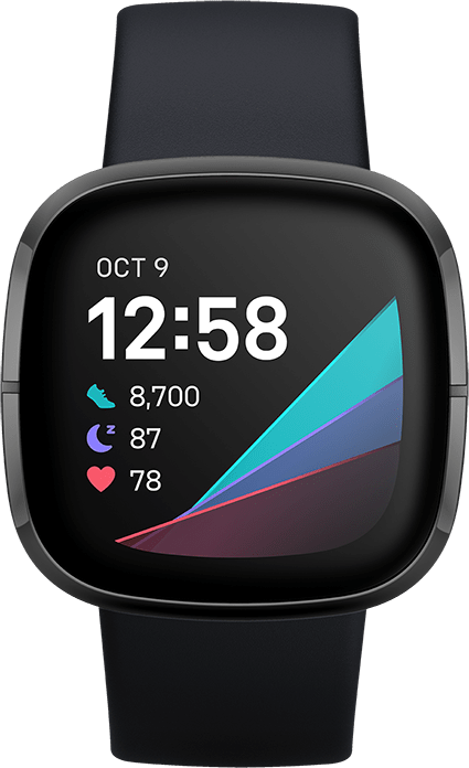 Carbon & Graphite Fitbit Sense, 41mm.2