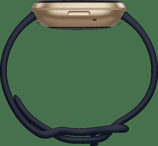 Midnight & Soft gold Fitbit Versa 3 Smartwatch.2