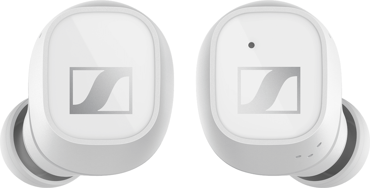 Weiß Sennheiser CX 400BT Noise-cancelling In-ear Bluetooth-Kopfhörer.2