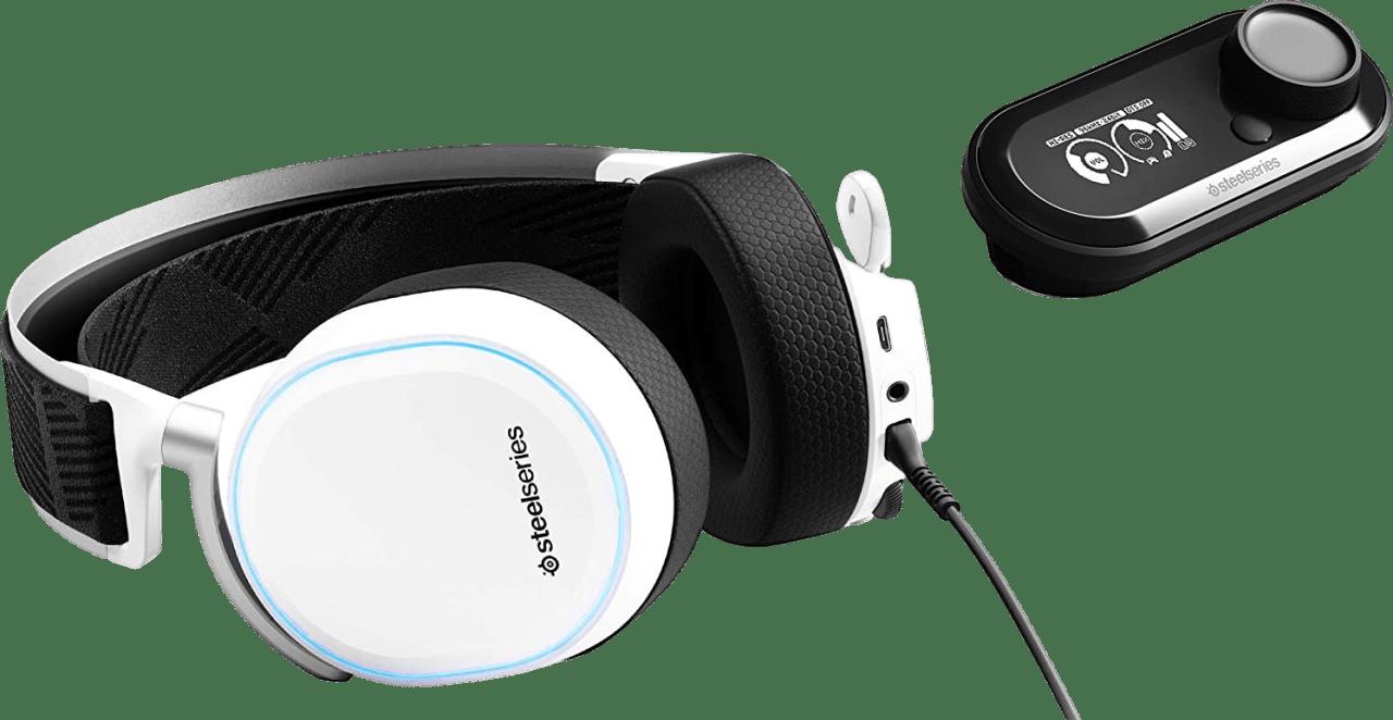 Weiß SteelSeries Arctis Pro + GameDAC.3