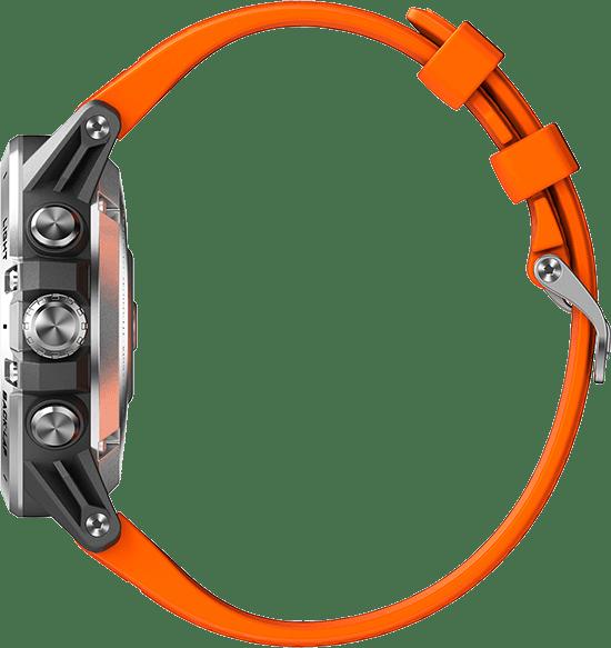 Oranje & zwart Coros Vertix GPS Sports watch.3