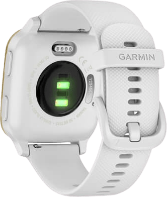 White Garmin Venu Sq GPS Sports watch.4