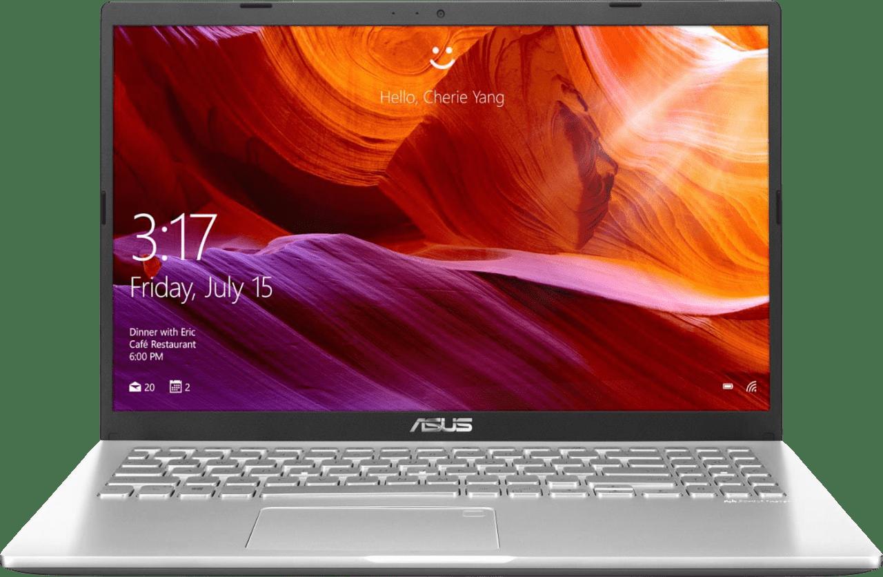 Transparent Silver Asus Laptop 15.1