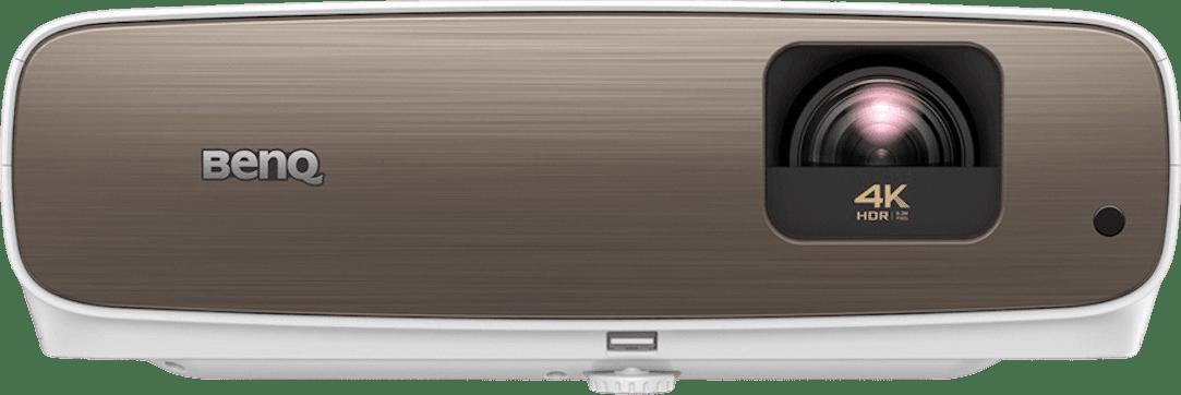 White Benq W2700 Projector - 4K.1