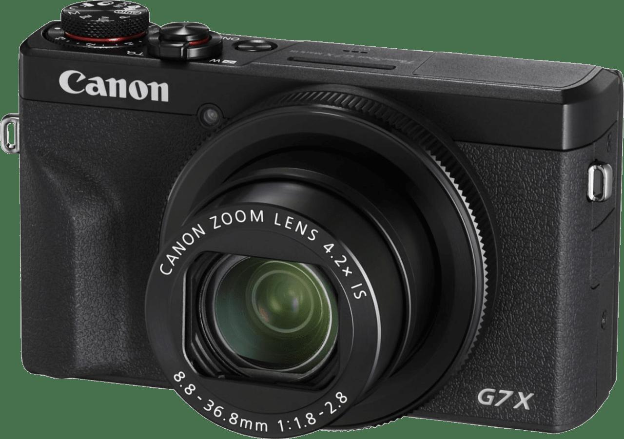 Schwarz Canon PowerShot G7X Mark III.1