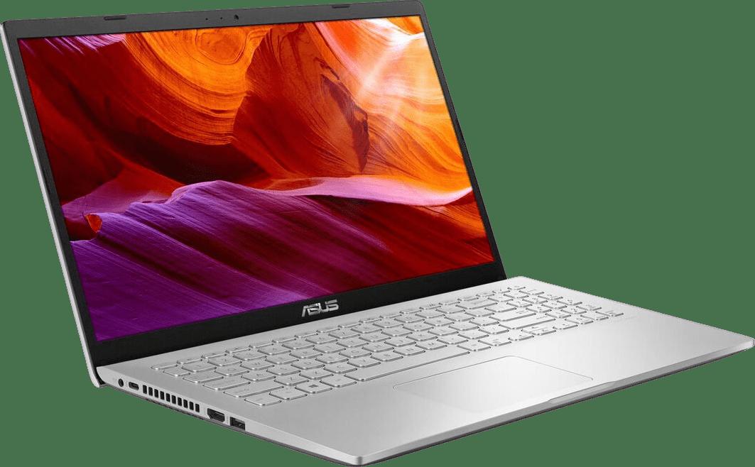 Transparent Silver Asus Laptop 15.2