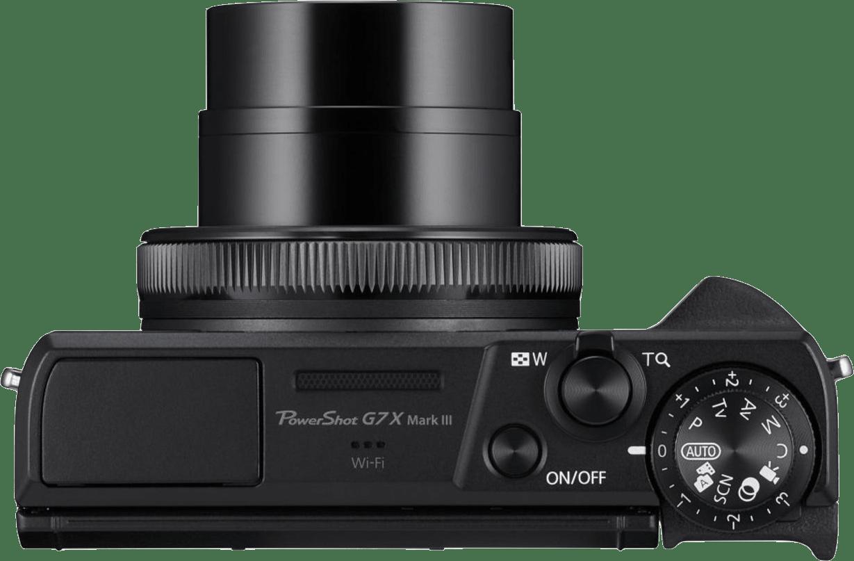Schwarz Canon PowerShot G7X Mark III.5