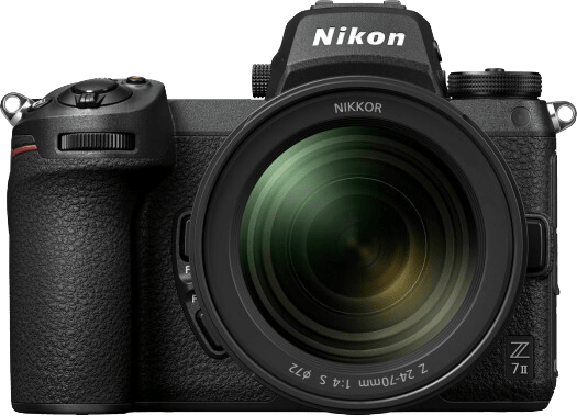 Negro Nikon Z7 II + 24 - 70mm Kit de cámara y lente.5