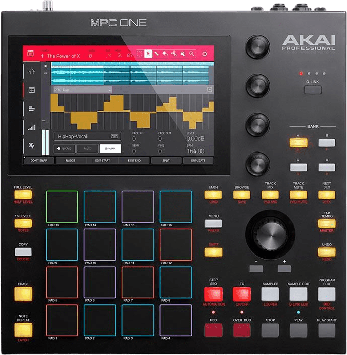 Black Akai MPC One Music Production Center.1