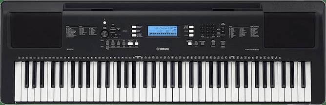 Black Yamaha PSR-EW310 Piano Piano.1