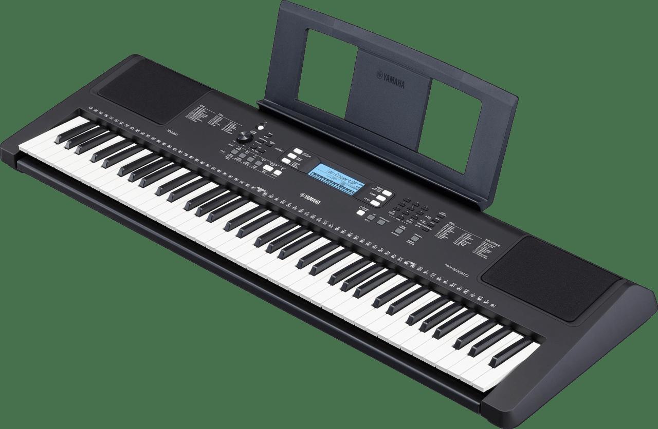 Black Yamaha PSR-EW310 Piano Piano.3