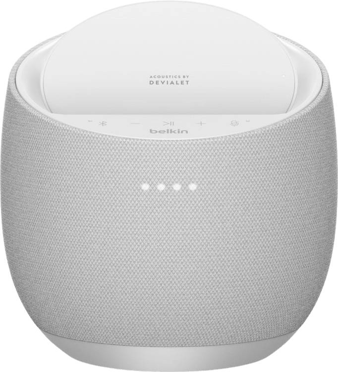 White Belkin Soundform Elite Hi-Fi Smart Speaker (Google Assistant) Smart Speaker.3