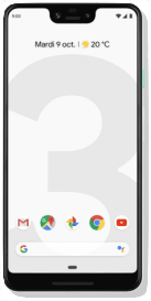 Clearly White Google Pixel 3 XL 64GB.1