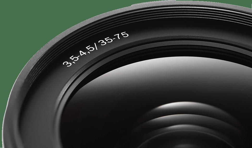 Black Hasselblad XCD ƒ3.5-4.5 / 35-75mm zoom Lens.3