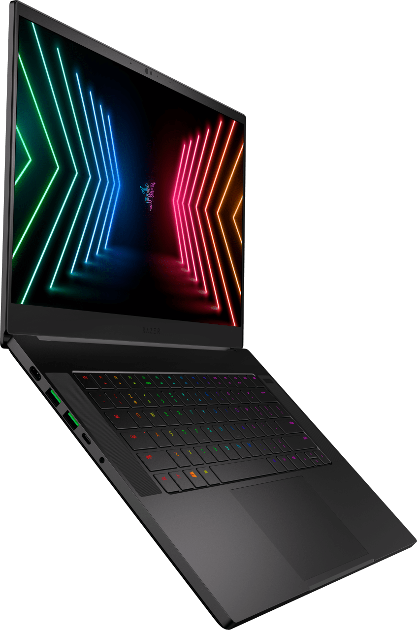 Black Razer Blade 15 Advanced (Early 2021) - Gaming Laptop - Intel® Core™ i7-10875H - 16GB (DDR4) - 1TB SSD - NVIDIA® GeForce® RTX 3070.3