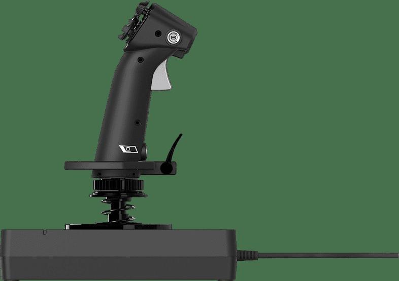 Black Logitech X56 HOTAS Flight Simulator Controller.4