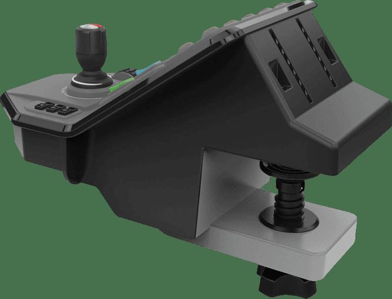 Black Logitech Saitek G Farming Simulator Control Panel.2