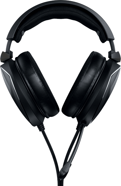 Black Asus ROG Theta Electret Over-ear Gaming Headphones.4