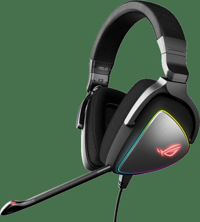 Schwarz Asus ROG Delta Over-Ear-Gaming-Kopfhörer.1
