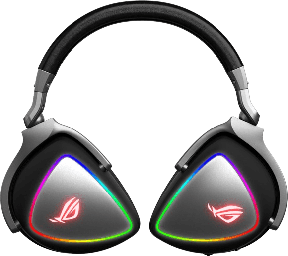 Schwarz Asus ROG Delta Over-Ear-Gaming-Kopfhörer.2