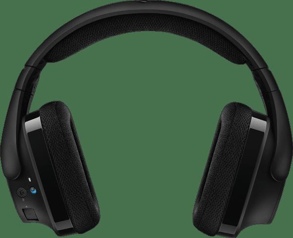 Black Logitech G533 Over-ear Gaming Headphones.4
