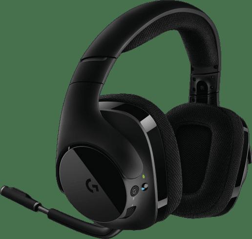 Black Logitech G533 Over-ear Gaming Headphones.3