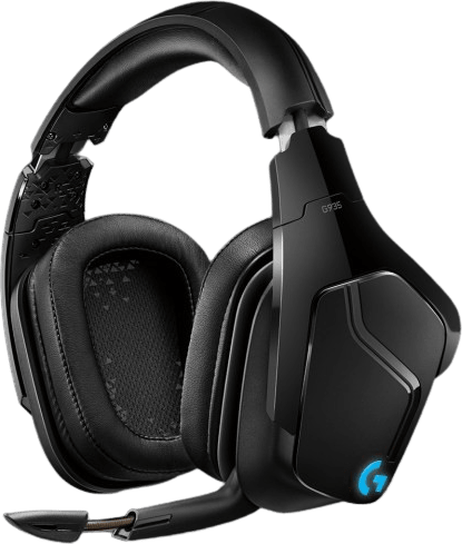 Black Logitech G935 Over-ear Gaming Headphones.1