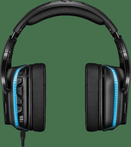 Schwarz Logitech G635 Over-Ear Gaming-Kopfhörer.3