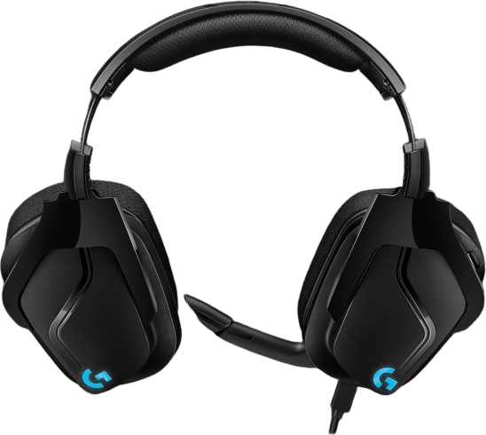 Schwarz Logitech G635 Over-Ear Gaming-Kopfhörer.4