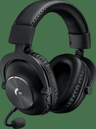 Black Logitech G Pro X Lightspeed Over-ear Gaming Headphones.4