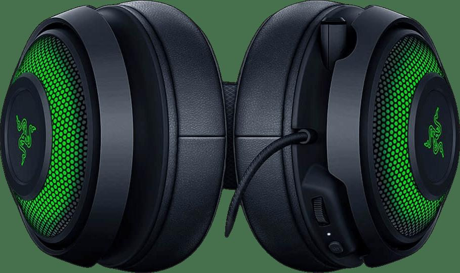 Black Razer Kraken Ultimate Over-ear Gaming Headphones.4