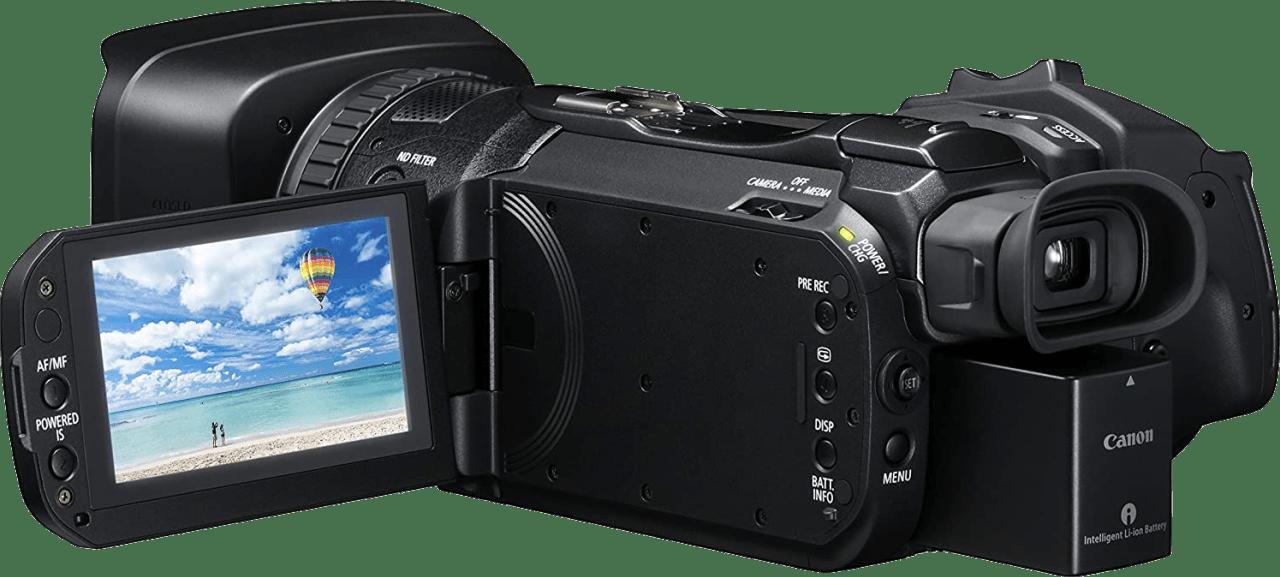 Zwart Canon Legria GX10 Professional Camcorder.2