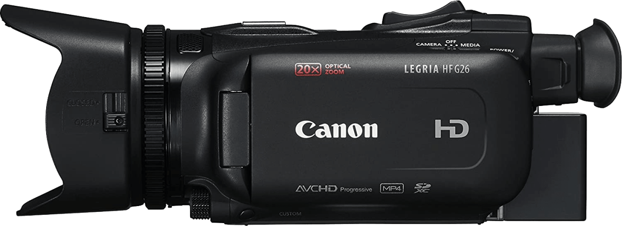 Black Canon Legria HF G60 4K Camcorder.3