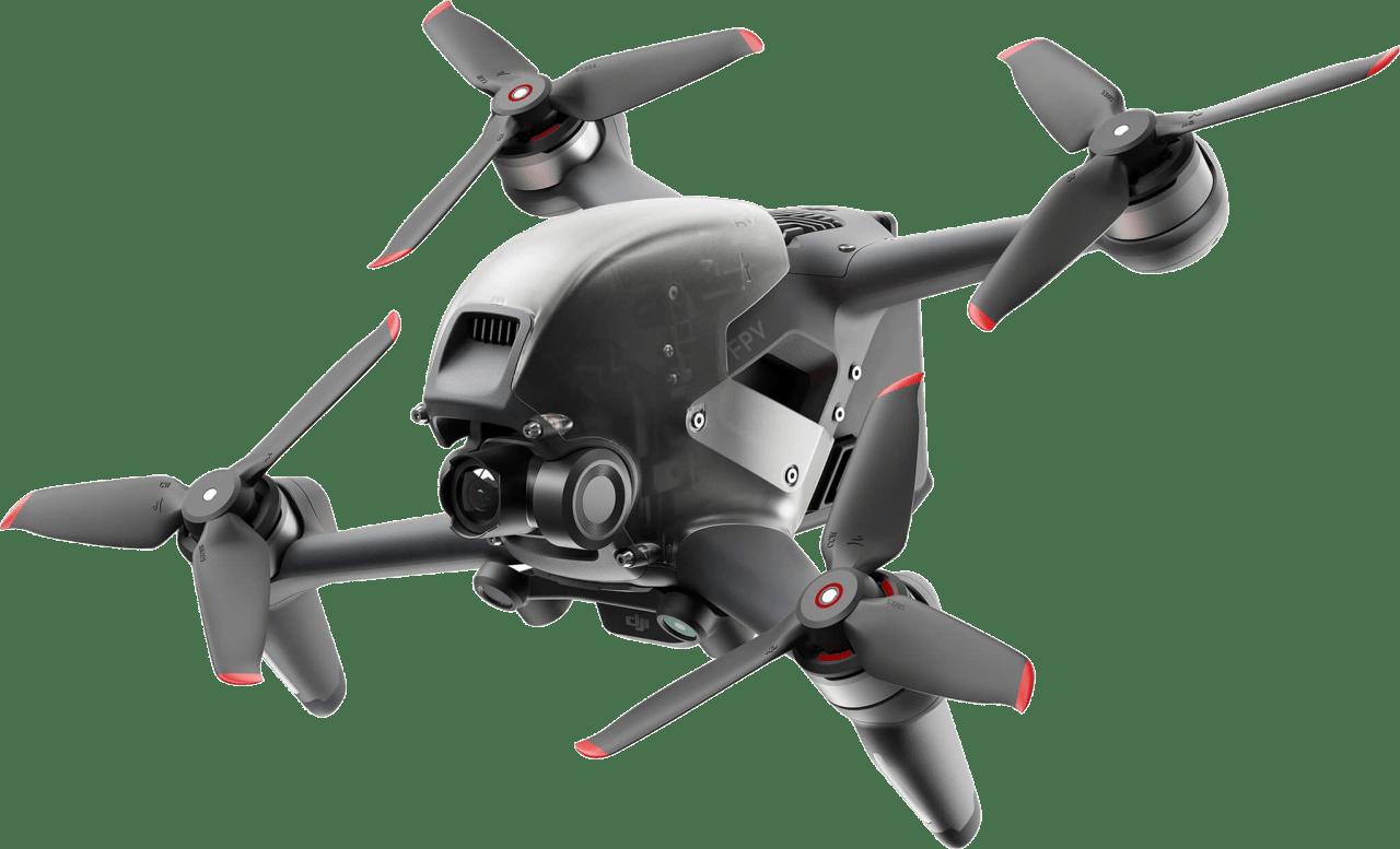 Grey DJI FPV Combo Drone.1