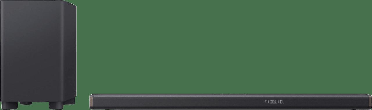 Schwarz Philips Fidelio B95/10 Soundbar mit Subwoofer.1