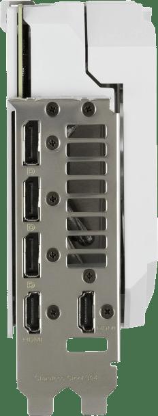 White Asus ROG -STRIX-RTX3090-O24G-WHITE Graphics Card.3