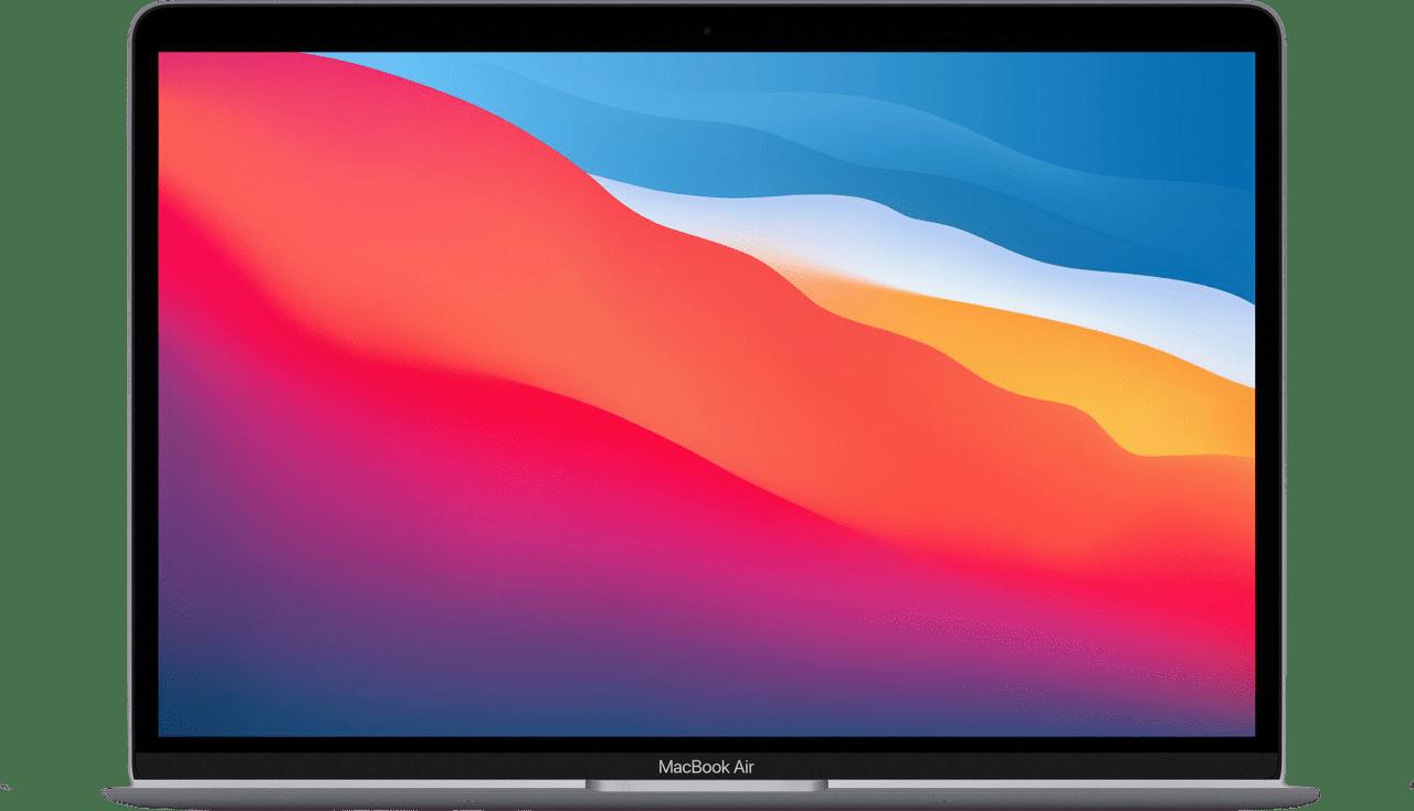 Silver Apple MacBook Air (Late 2020) - English (QWERTY) Laptop - Apple M1 - 16GB - 256GB SSD - Apple Integrated 7-core GPU.1