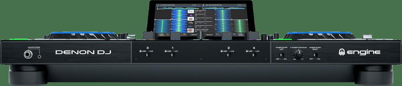 Schwarz Denon DJ Prime 4 All in one DJ controller.3