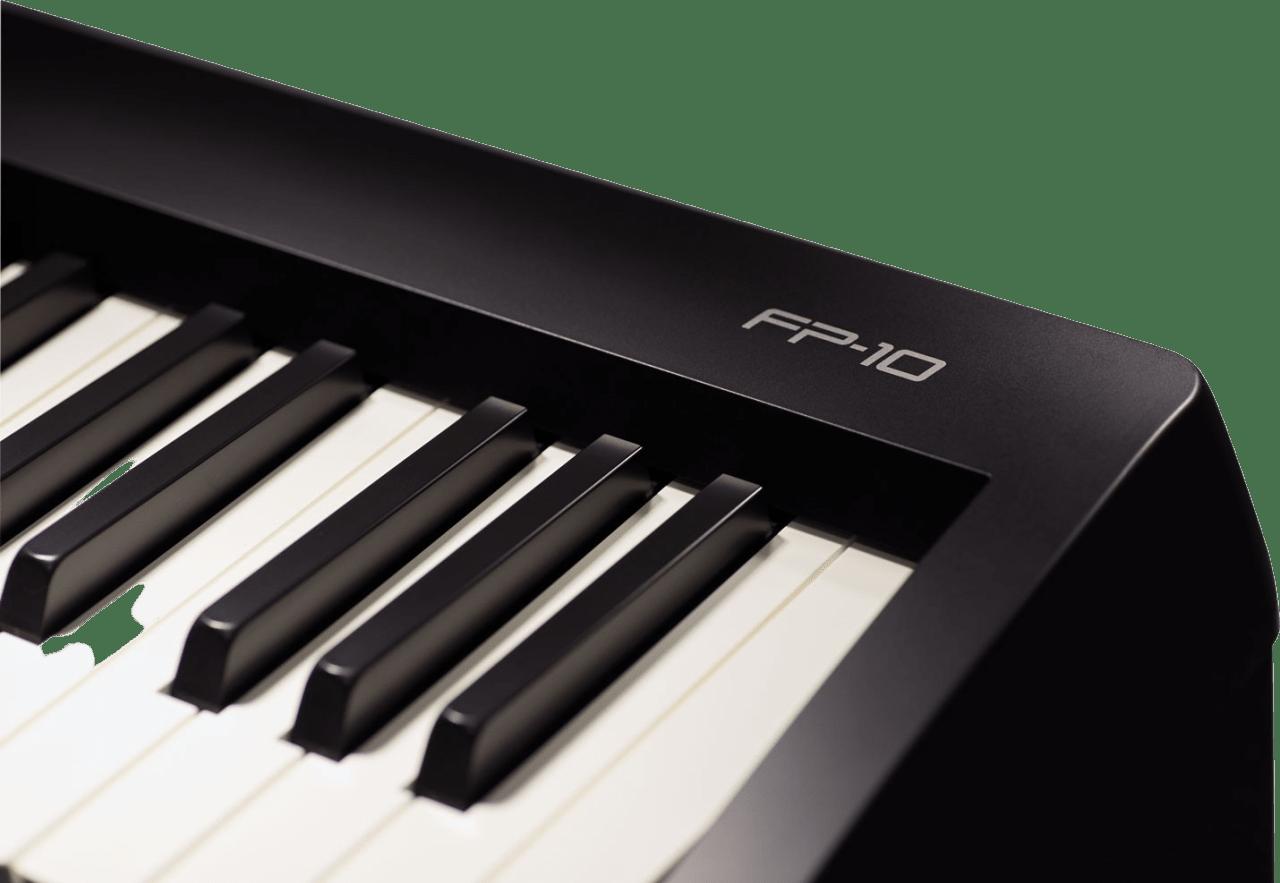 Black Roland FP-10 Digital Piano.2