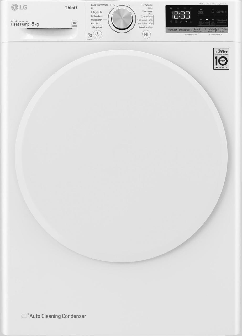 Weiß LG Wärmepumpentrockner V3RT8.1