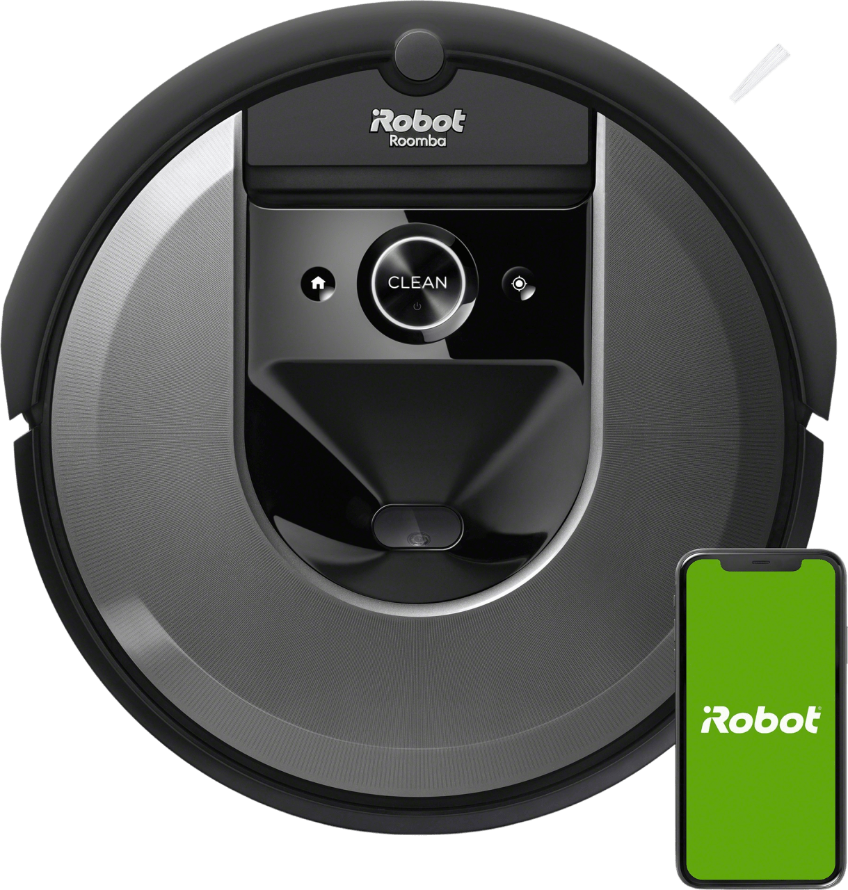 Black iRobot Roomba i7 Vacuum Cleaner Robot.1