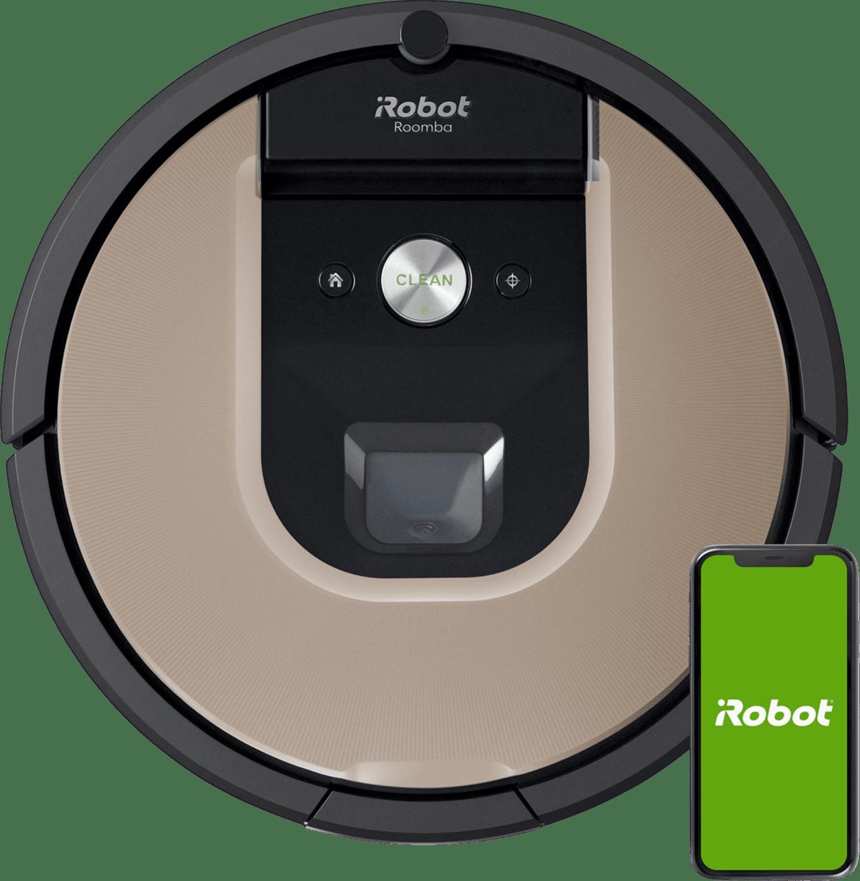 Grey / Gold iRobot Roomba 976 Vacuum Cleaner Robot.1