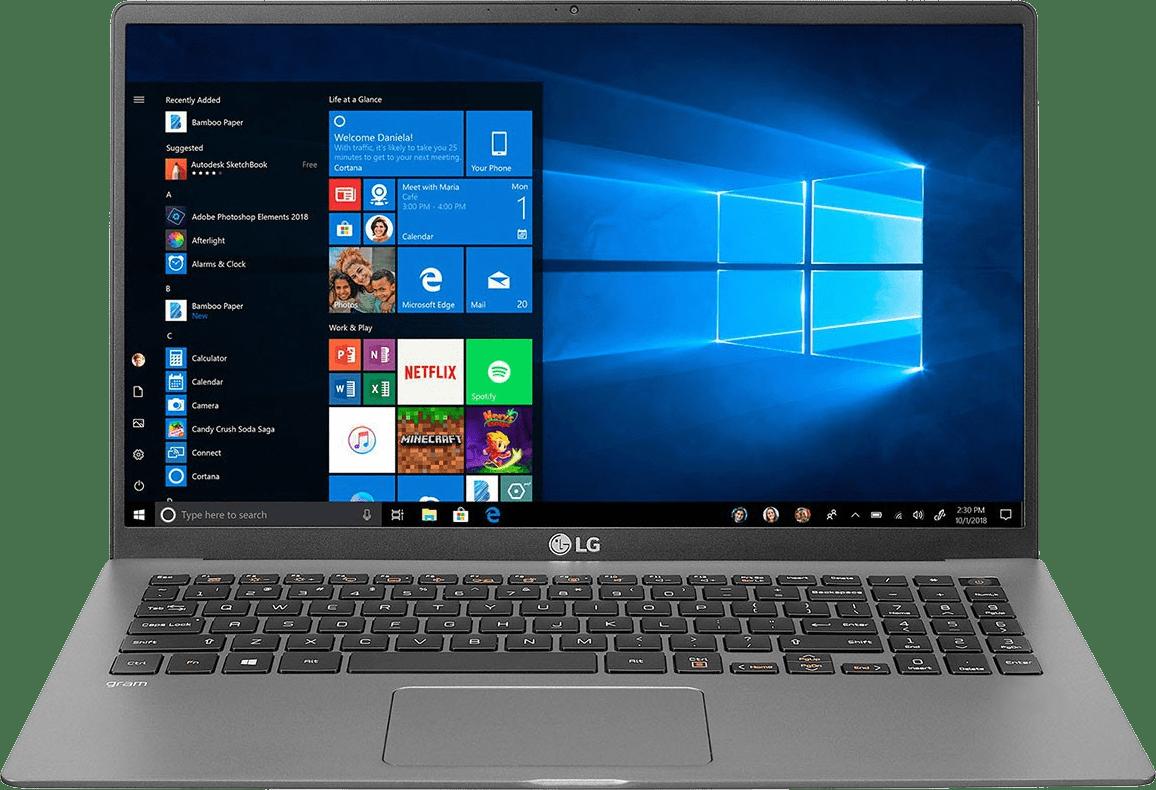 Dark Silver LG gram 15 Business Edition Laptop - Intel® Core™ i5-1035G7 - 8GB - 512GB SSD - Intel® Iris® Plus Graphics.1