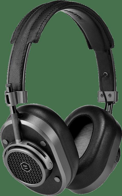 Gunmetal Master & dynamic MH40 HiFi Over-ear Bluetooth headphones.1