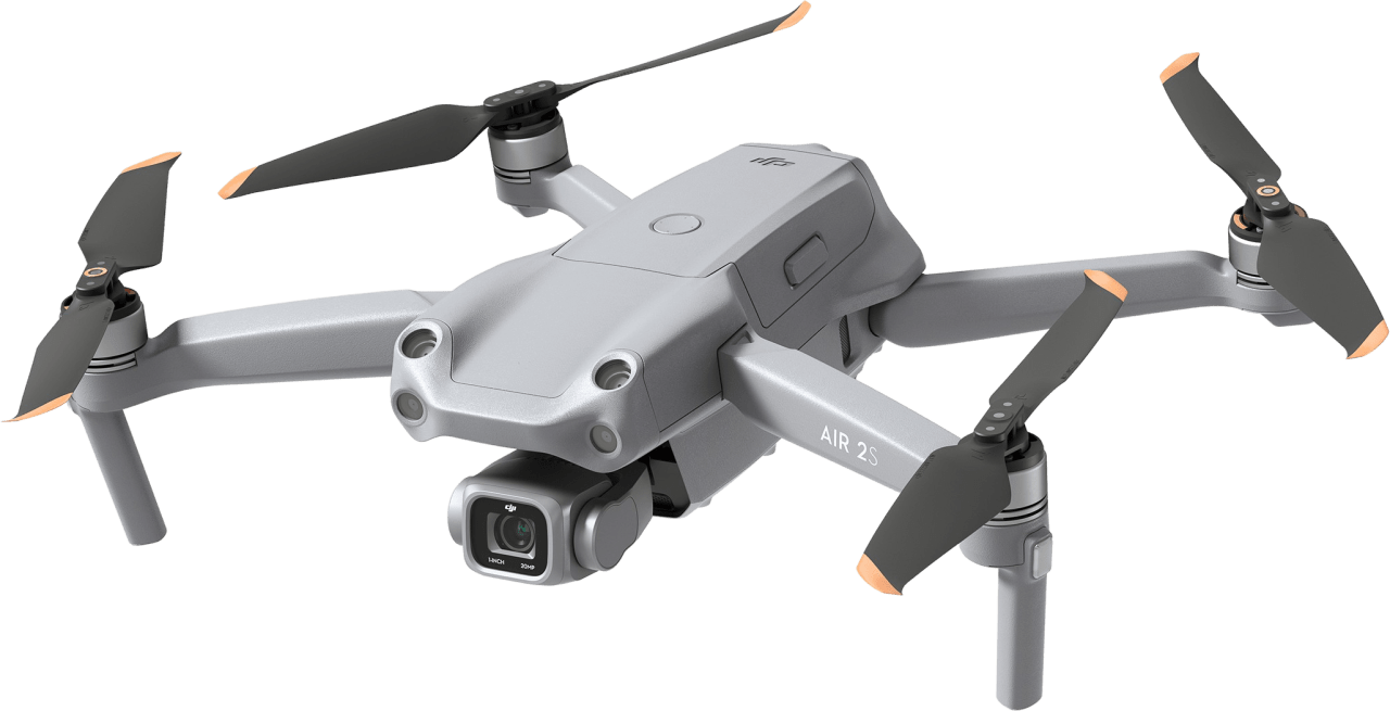 Grau DJI Air 2S Fly More Combo Drohne.1