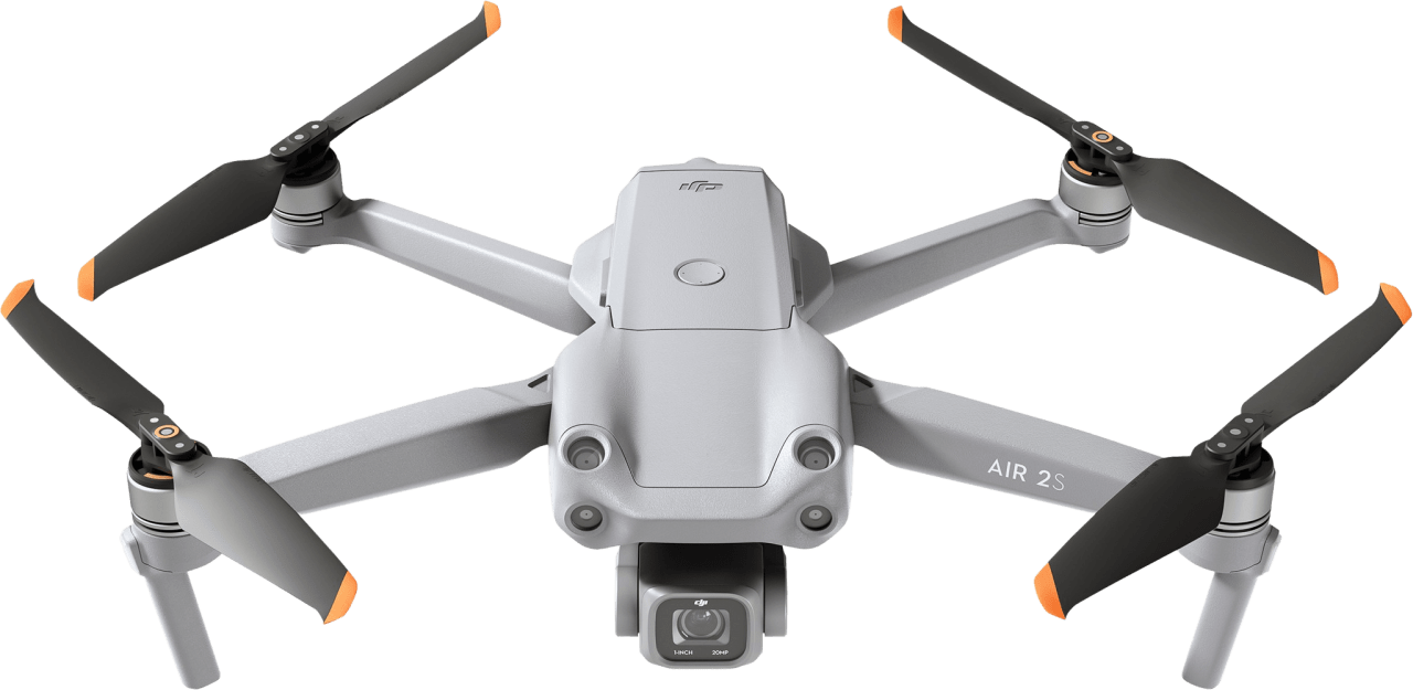 Grau DJI Air 2S Fly More Combo Drohne.2