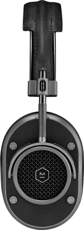 Gunmetal Master & dynamic MH40 HiFi Over-ear Bluetooth headphones.2