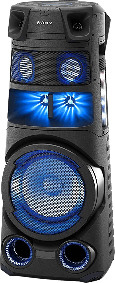 Black Sony MHC-V83D Partybox Party Bluetooth Speaker.2